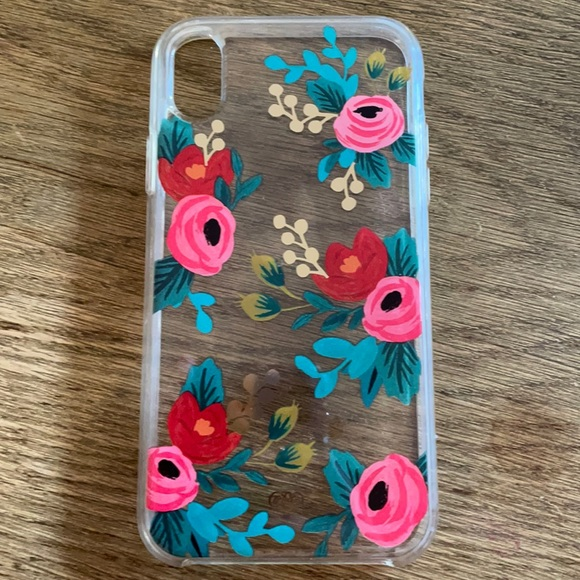 Rifle Paper Co iPhone XR case